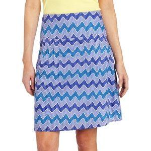 Royal Robbins prairie stripe skirt. NWT